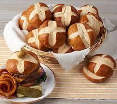 pretzel delivery prop and peller 24 bavarian style pretzel burger buns auto