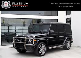 2015 Mercedes Benz G63 Amg 4matic Diamond Stitched Seats G 63