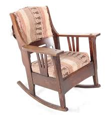 Mission Style Rocking Chair Mission Style Rocking Chair Antique Home Chair Decoration