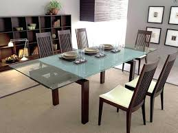 Extending Dining Table And 8 Chairs Extending Glass Dining Table And 8 Chairs Chrome And Glass