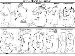 plagues egypt coloring pages