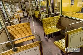 siege le parisien siège en bois d une voiture sprague thomson du métro parisien boreally