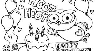 birthday balloons coloring page 1000 images about happy birthday