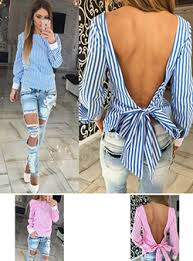 striped shirts for women cheap price