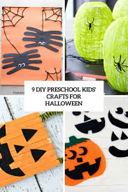 9 diy preschool kids u0027 crafts for halloween shelterness