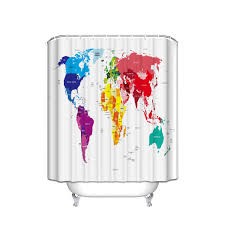 world map shower curtain canada nrtradiant com
