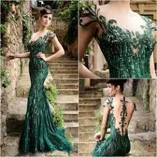 aliexpress com buy emerald green prom dresses with cap