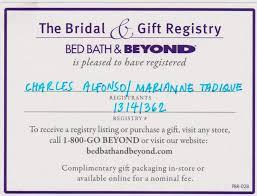 bed and bath bridal registry bed bath and beyond wedding registry checklist tbrb info