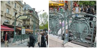 Paris Subway 10 Of The Most Beautiful Art Nouveau Metro Stations In Paris