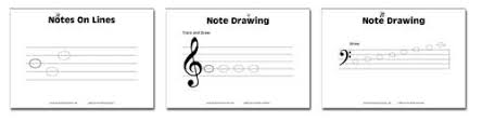 junior music worksheets resources for music education
