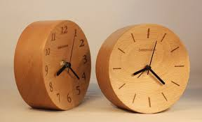 creative wood beladesign creative wood design wooden decorative desktop clock