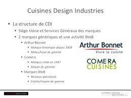 cuisines design industries cdi une entreprise de design