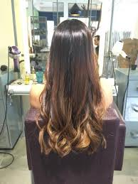 Balayage For Light Brown Hair Went From Brown Black Hair To A Dark To Light Ombre Balayage Took