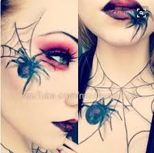 Spider Makeup Halloween by Mom Life Tj Luvs Being Natural