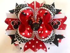 minnie mouse hair bow minnie mouse bow ebay