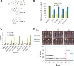 novel protein disulfide isomerase inhibitor with anticancer