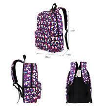 multi colour bleeding heart unicorn rainbow fantasy backpack