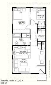 Plan à Adapter Pour Le Sous Sol 800 Sq Ft 2 Bedroom Cottage Plans 1 800 Sf Home Plans