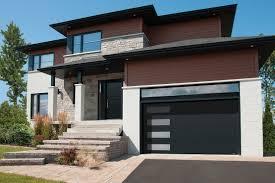 contempory garage door contemporary garage doors black modern door with