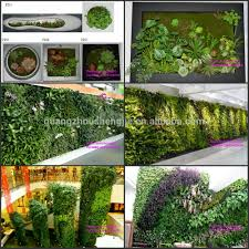 china selling vertical garden system artificial plant wall for