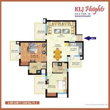 Dental Surgery Floor Plans by Klj Heights Sector 15 Bahadurgarh Residential Project