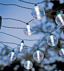 solar string lights 25 bulb solar powered globe string lights gifts 25 50