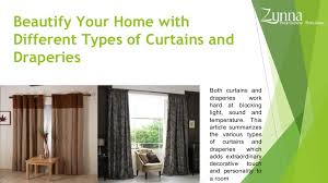 Different Kind Of Curtains Types Of Curtains And Draperies Contemporary Curtains
