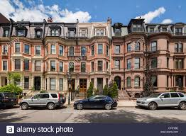Victorian Houses by Commonwealth Avenue Victorian Houses Boston Stock Photo Royalty