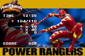 power rangers dino thunder symbian game power rangers dino