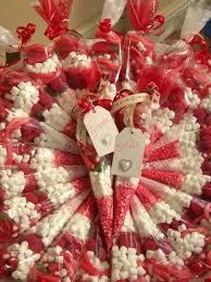 wedding favour sweet cones in red wedding pinterest wedding