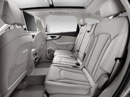Audi Q7 Inside 2016 Audi Q7 Interior Rear Seats Hd Wallpaper 20