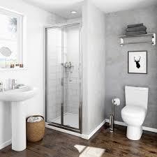 Bifold Shower Door Clarity 4mm Bifold Shower Door Victoriaplum