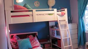 white beadboard bookcase ana white loft bed w bookcase and headboard diy projects