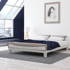 Free Platform Bed Designs by Motif Design Aura White Platform Bed Free Shipping Today
