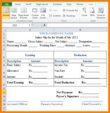 salary receipt template 5 salary slip template excel free rsvp slip template