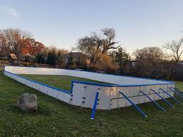 iron sleek outdoor ice rink systems home facebook