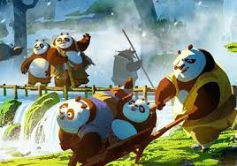 kung fu panda 3 concept art reveals panda village comingsoon net