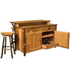 Amish Kitchen Furniture Hickory Amish Kitchen Island Bar Amish Furniture Cabinfield