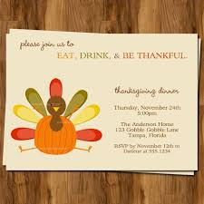 free thanksgiving dinner invitations cimvitation