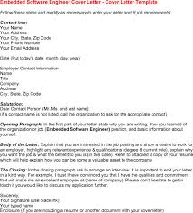 cover letter for software engineer software engineer intern cover