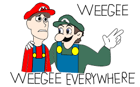 Weegee Memes - weegee weegee everywhere by xalchemistxkaylax on deviantart