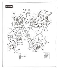 wiring diagram for gas golf cart wiring diagrams