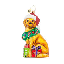 christopher radko ornaments 2015 radko christmas retriever ornament
