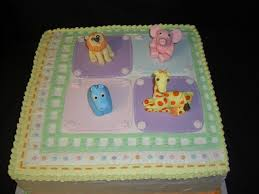 animal print napkin baby shower cake cakecentral com