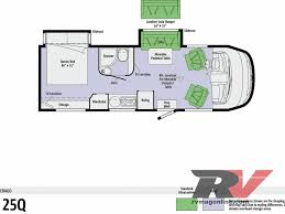 Small Rv Floor Plans First Drive 2011 Winnebago Via 25q Rv Magazine