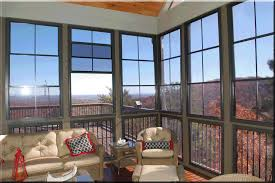 Windows For Porch Inspiration Awesome Furnishing Decks With Midcentury Veranda Sets As Well As