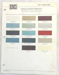 1967 cadillac rm rinshed mason color paint chip chart all models