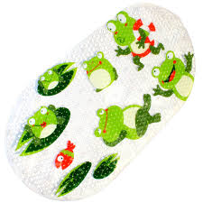 amazon co uk children s bath mats home kitchen warrah non slip bath mat shower mats for baby high quality anti slip mildew resistant for children anti bacterial anti slip resistant bathroom sticker for