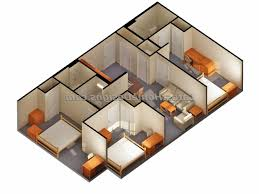 house design plans 3d 3 bedrooms home design 2 bedroom house plans designs 3d small homilumi