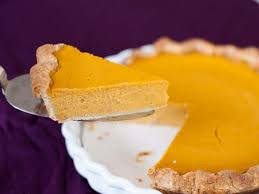 thanksgiving pie to classic vs smooth pumpkin